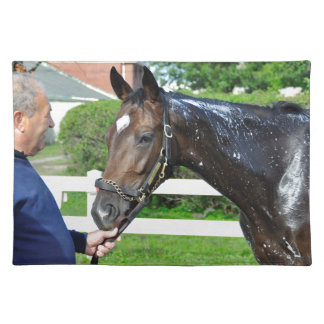 Sightseeing Filly Cloth Placemat