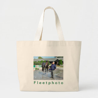 Sightseeing Filly Large Tote Bag