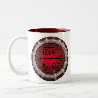 sigil del escorpión taza de café