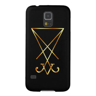 Sigil del símbolo de Lucifer- A del satanism Funda Para Galaxy S5