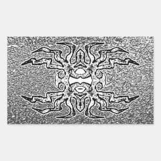 Sigil (grey) rectangular sticker