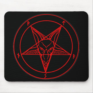 SIGIL of BAPHOMET Mouse Pad