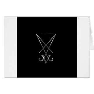 Sigil of Lucifer- A symbol of satanism Cards