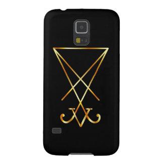 Sigil of Lucifer- A symbol of satanism Galaxy S5 Case