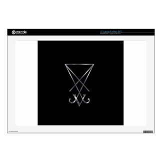 Sigil of Lucifer- A symbol of satanism Decal For Laptop