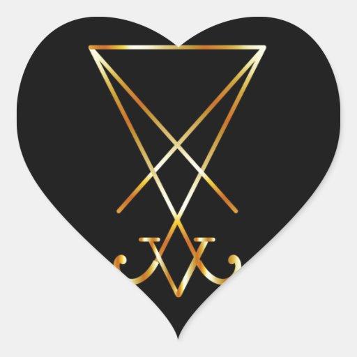 Sigil of lucifer a symbol of satanism stickers zazzle