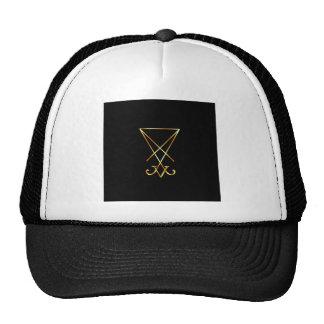Sigil of Lucifer- A symbol of satanism Trucker Hat
