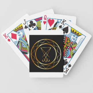 Sigil of Lucifer Bicycle Playing Cards