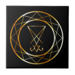 "Sigil of Lucifer Ceramic Tile<br><div class=""desc"">Sigil of Lucifer</div>"