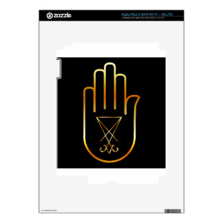 Sigil of Lucifer in a palm Decal For iPad 3