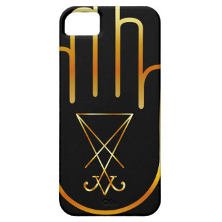 Sigil of Lucifer in a palm iPhone SE/5/5s Case