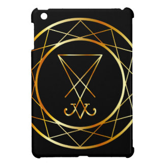 Sigil of Lucifer iPad Mini Cover