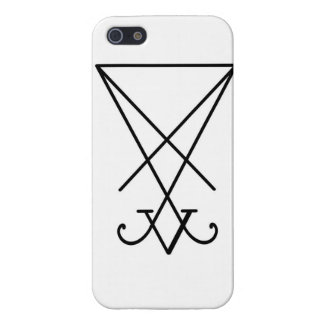 Sigil of lucifer iphone case covers for iPhone 5