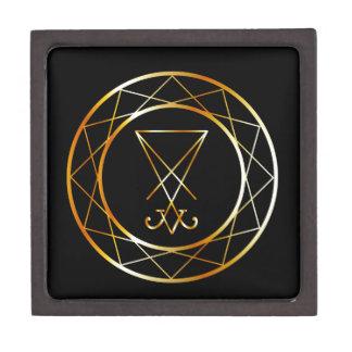 Sigil of Lucifer Jewelry Box