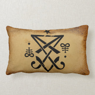 Sigil of Lucifer Lumbar Pillow