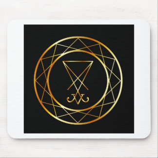 Sigil of Lucifer Mouse Pad