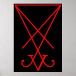 Sigil of Lucifer Poster