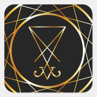 Sigil of Lucifer Square Sticker