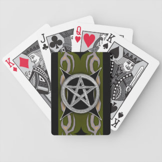sigilboard pentacle bicycle playing cards