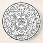 Sigillum Dei Aemeth (el sigil de Dei Ameth, sello Posavasos Para Bebidas