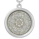 sigillum dei aemeth round pendant necklace