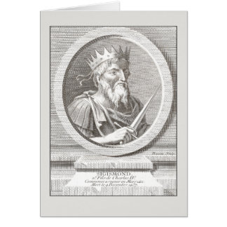 Sigismond / Sigismund - Holy Roman Emperor Greeting Cards