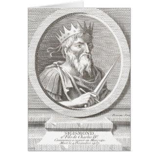 Sigismond / Sigismund - Holy Roman Emperor Card