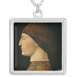 Sigismondo Malatesta Silver Plated Necklace