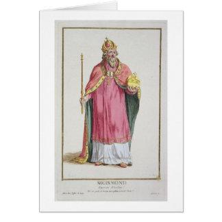 Sigismund (1368-1437) Holy Roman Emperor (1433-37) Card