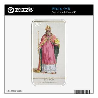 Sigismund (1368-1437) Holy Roman Emperor (1433-37) iPhone 4 Decals