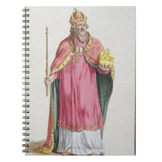 Sigismund (1368-1437) Holy Roman Emperor (1433-37) Notebook