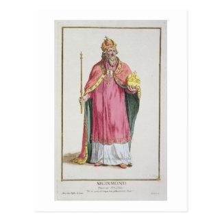 Sigismund (1368-1437) Holy Roman Emperor (1433-37) Postcard