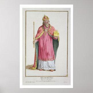 Sigismund (1368-1437) Holy Roman Emperor (1433-37) Poster