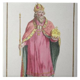Sigismund (1368-1437) Holy Roman Emperor (1433-37) Tile