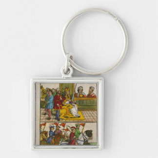 Sigismund at the Council of Constance Keychain