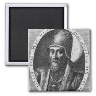 Sigismund Augustus, King of Poland 2 Inch Square Magnet