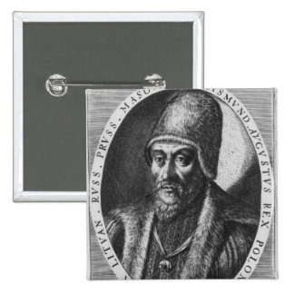 Sigismund Augustus, King of Poland Button