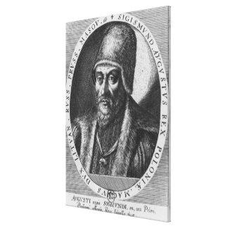Sigismund Augustus, King of Poland Canvas Print