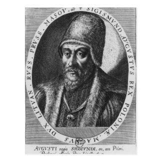Sigismund Augustus, King of Poland Postcard