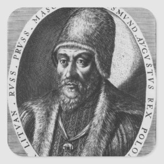 Sigismund Augustus, King of Poland Square Sticker