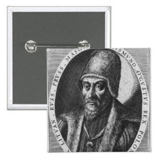 Sigismund Augustus, rey de Polonia Pin Cuadrado