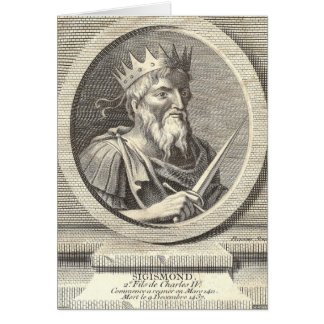 Sigismund, European History, Holy Roman Emperor Cards