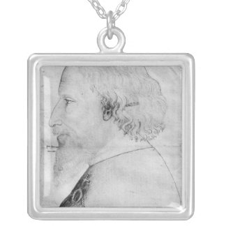 Sigismund, Holy Roman Emperor Silver Plated Necklace
