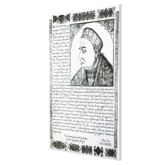 Sigismund I , 1532 Canvas Print