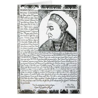 Sigismund I , 1532 Card