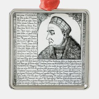 Sigismund I , 1532 Metal Ornament