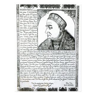 Sigismund I , 1532 Postcard
