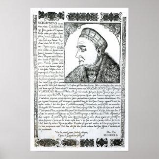 Sigismund I , 1532 Poster