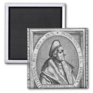 Sigismund I 2 Inch Square Magnet
