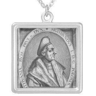 Sigismund I Silver Plated Necklace